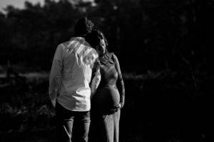 Zwangerschapsreportage op de veluwe